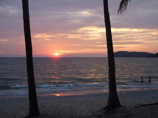Sunset Beach Resort: nice sunset