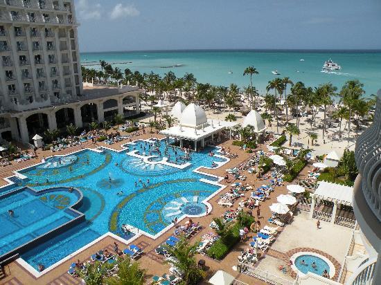 Hotel Riu Palace Aruba: Shot from room