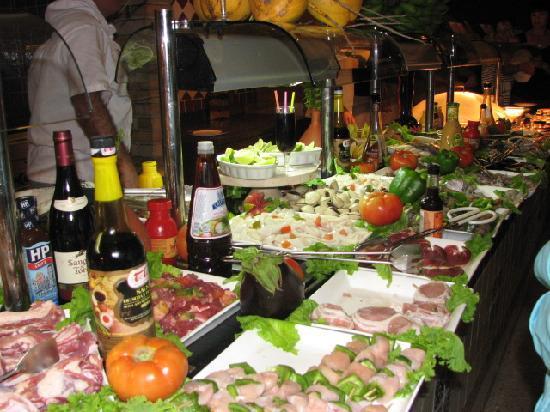 Sol Rio de Luna y Mares: buffet grill
