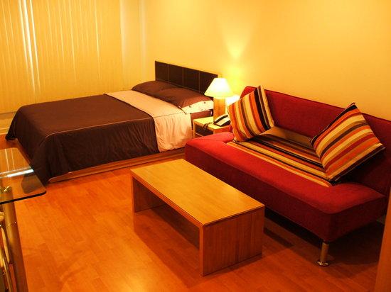 Our room at Sukanya condos