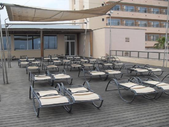 Hotel Levante: sun terrace