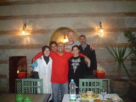 Riad Dar Nimbus: la sympathique équipe