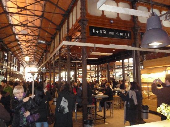 Mercado San Miguel: L'Interno
