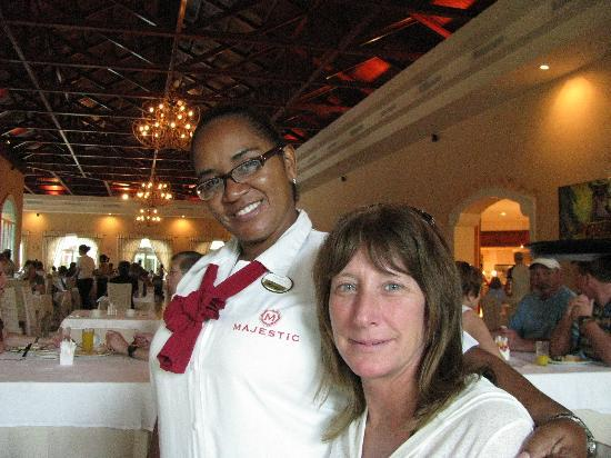 Majestic Colonial Punta Cana: Marie-Sol great spirits and always put a smile on our faces. Thank You