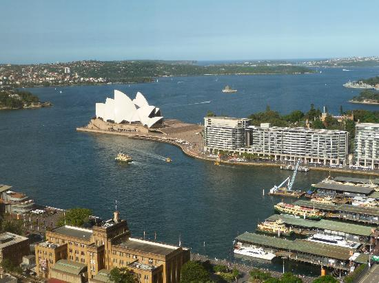Shangri-La Hotel Sydney: view from room