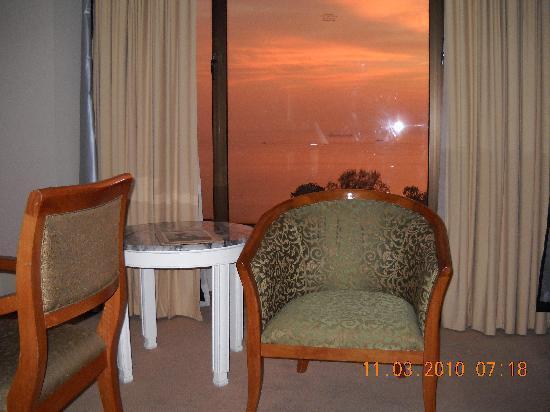 Bayview Hotel Georgetown Penang: ocean view