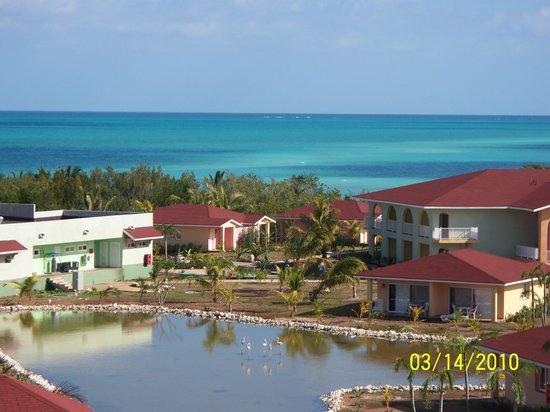 Memories Caribe Beach Resort: vue du site et de la mer