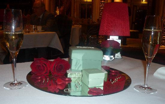 The Dorchester: The Engagement Cake