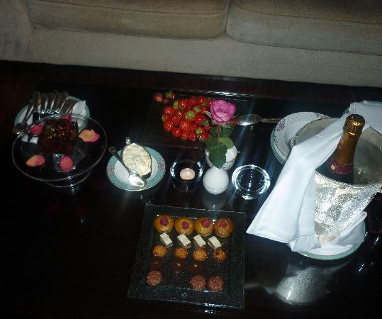 The Dorchester: The lovely surprise after the meal