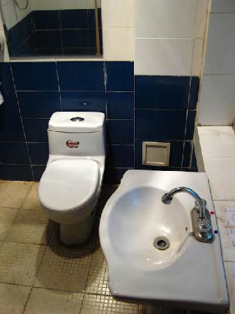 Lhasa Phuntsok Khasang International Youth Hostel: Filthy bathroom