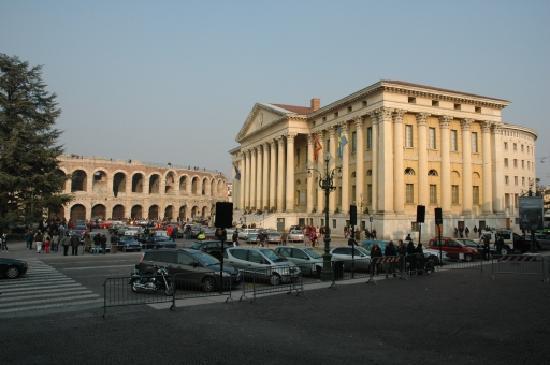 Hotel Mastino: Piazza Brà
