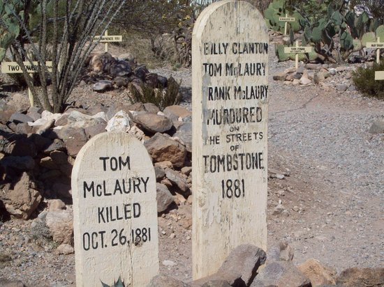 Boothilll Graveyard: The famous gunfight
