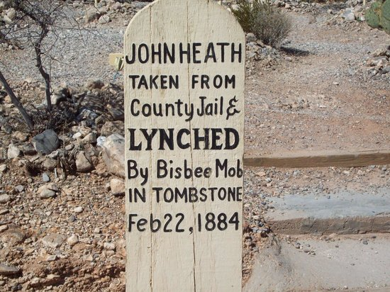 Boothilll Graveyard: Lynched