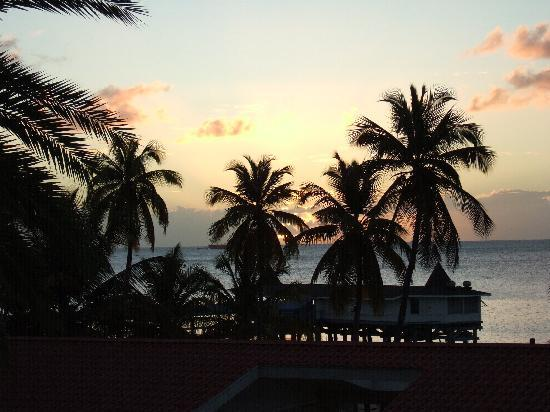 Halcyon Cove by Rex Resorts: View from hotel room at sunset