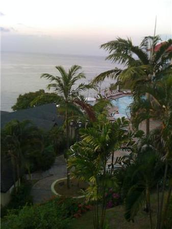 Sandals Regency La Toc: View From Our Balcony