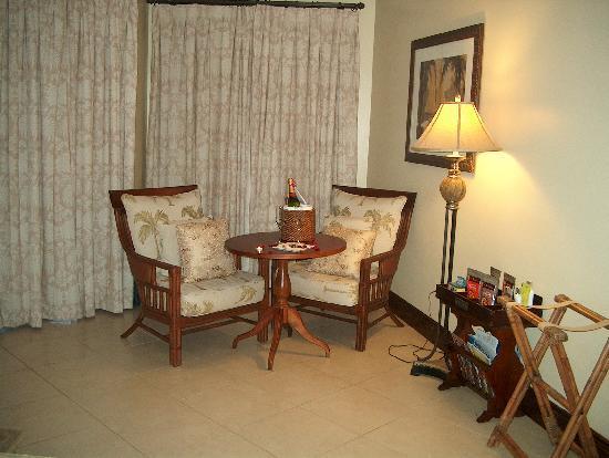 Sandals Grande Antigua Resort & Spa: Special treat
