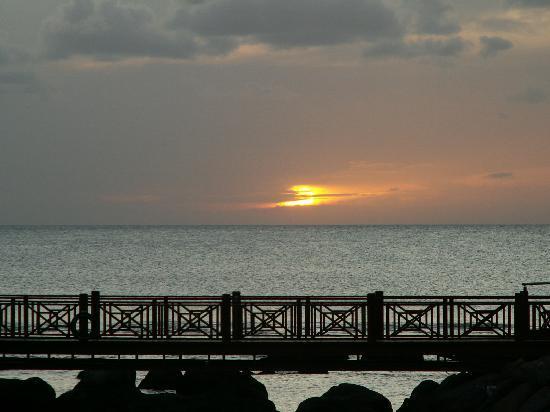 InterContinental Mauritius Resort Balaclava Fort: sunset