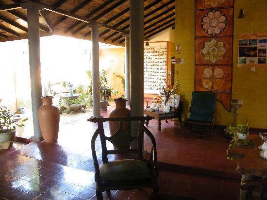 Siddhalepa Ayurveda Health Resort : Empfangsraum Ayurvedakurbereich