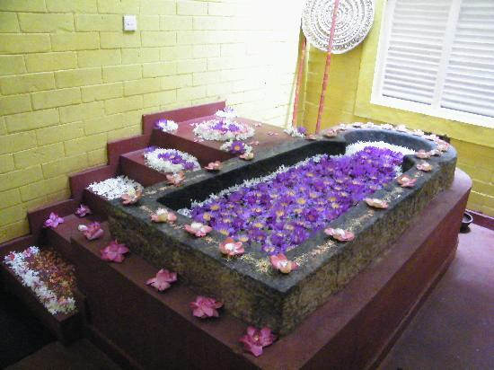 Siddhalepa Ayurveda Health Resort: Flower Bath