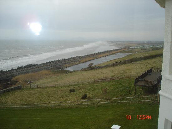 Morwendon House: great view of the sea