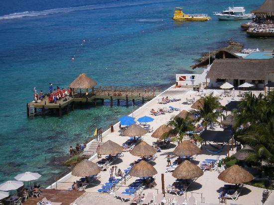 El Cid La Ceiba Beach Hotel: View from the 10th floor!!