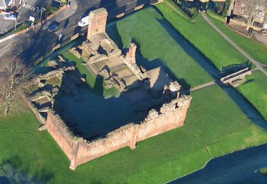 Penrith Castle: Ariel View