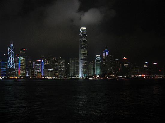 Marco Polo Hongkong Hotel: The skyline