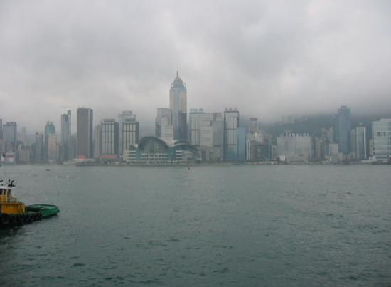 Marco Polo Hongkong Hotel: The skyline by day