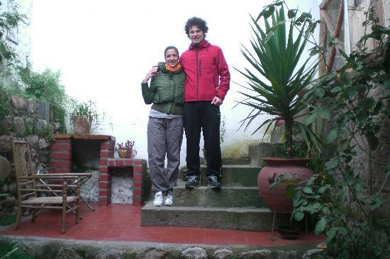 Casa de Mama Cusco-The Treehouse: L'entrata el'ultimo saluto...