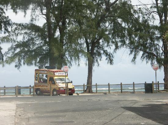 Pallagino Guest House: Spiaggia di Flic en Flac