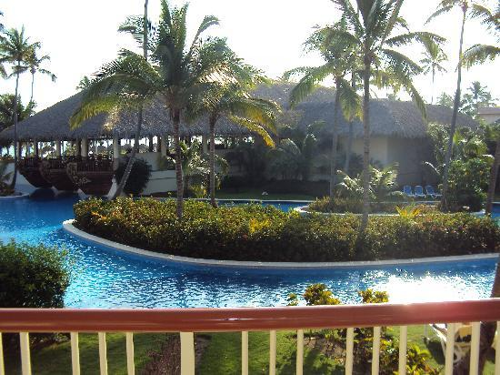 Majestic Colonial Punta Cana: Off of our balcony
