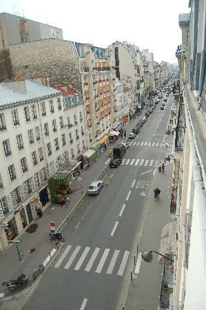 Hotel Lecourbe: View from the room