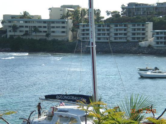 Bolongo Bay Beach Resort: Great susnset cruise