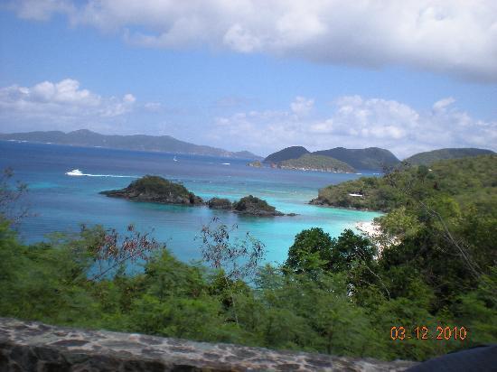 Bolongo Bay Beach Resort: trunk bay in St John