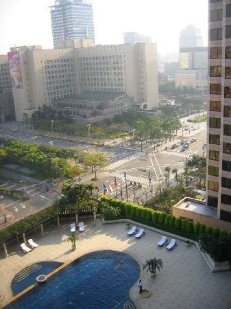 Grand Hyatt Taipei: View from my room