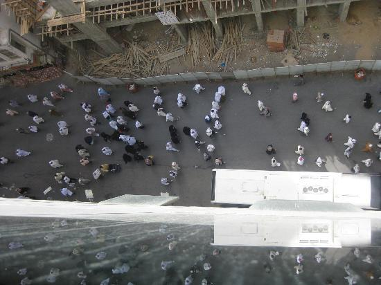 Huda Kareem Hotel: Street view from Hotel Room