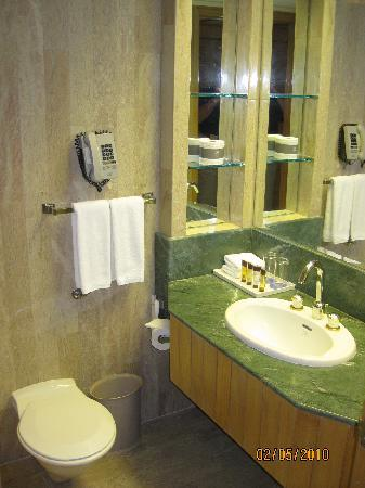 Radisson Hotel Brunei Darussalam: Bathroom~Room # 208~February 2010