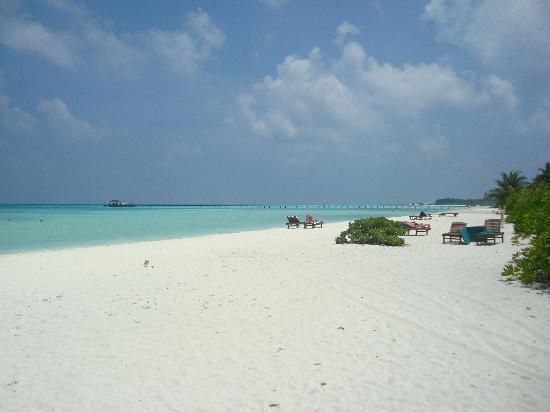 Holiday Island Resort & Spa: Beach on Jetty side.
