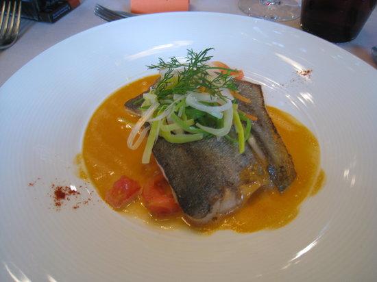 Bouillon, Belçika: présentation soignée des plats
