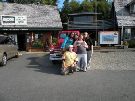 Bella's Truck..  Forks, WA