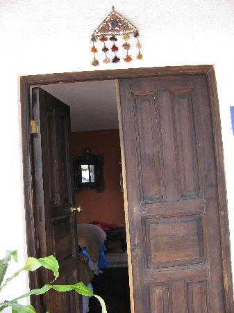 La Villa Serena: our door to the Moroccan room