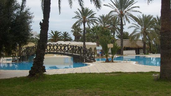 Hotel Marhaba: POOL AREA [part of]