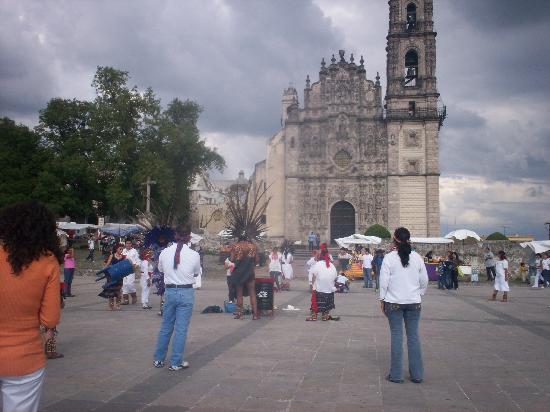 Village of Tepotzotlan: Tepotzotlan Mexico Templo de San Francisco Javier 2