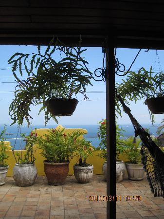 Pousada das Flores : The view from the veranda