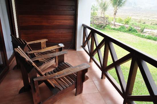 Santi Resort & Spa: private patio