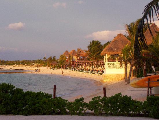 El Dorado Sensimar Riviera Maya: Morning view of the beach