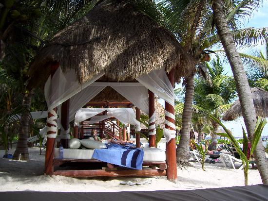 El Dorado Sensimar Riviera Maya: Beach beds were nice