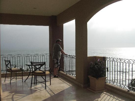 Villa La Estancia Beach Resort & Spa Riviera Nayarit: Looking out to ocean from our balcony