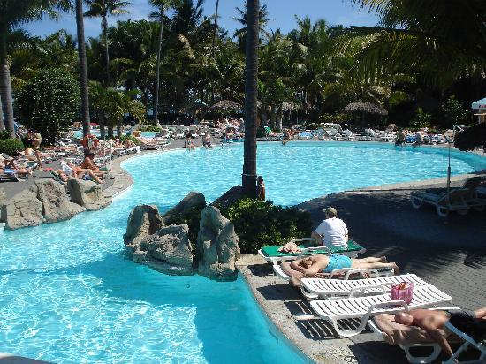 ClubHotel Riu Bachata: part of one of the pools on the resort