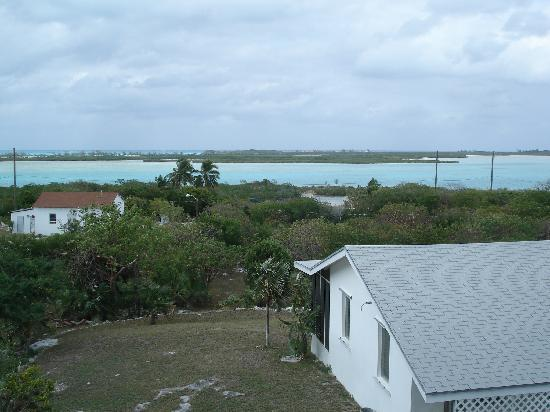 Exuma Vacation Cottages: Lookout tower, behind cottage 4